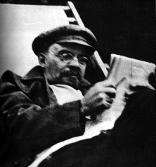 """""""The Marxist doctrine is omnipotent because it is true. It is comprehensive and harmonious, and provides men with an integral world outlook irreconcilable with any form of superstition, reaction, or defense of bourgeois oppression. """" - Vladimir Lenin"""