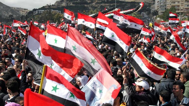pro-assad-rally