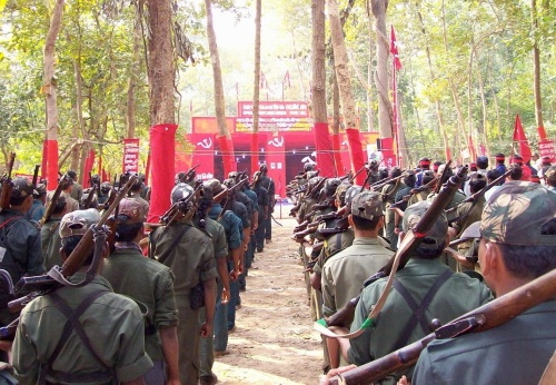Maoist guerrillas in India